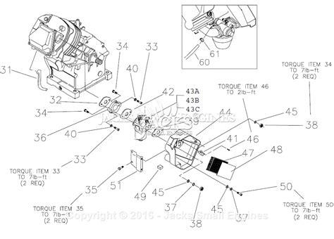 Generac Parts Diagram For Air Cleaner Carburetor