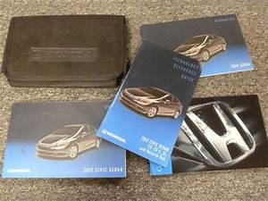 2012 Honda Civic Sedan Owner Manual User Guide Set Dx Lx