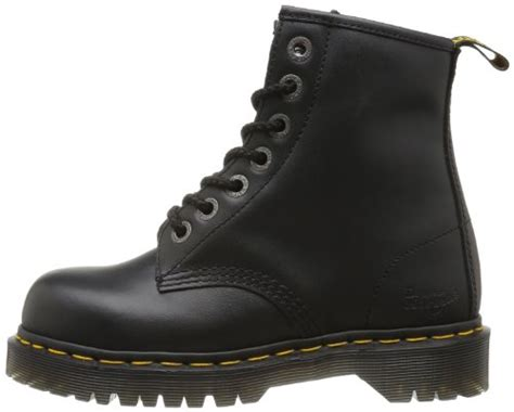 Martens Adult Leather Safety Boots Black