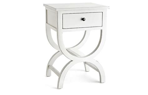 Curved Nightstand by Curved Nightstand White Storage 650 Shop