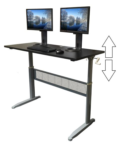 Ergotron Workfit D Sit Stand Desk by Best Sit Stand Desk 2016 Decorative Desk Decoration