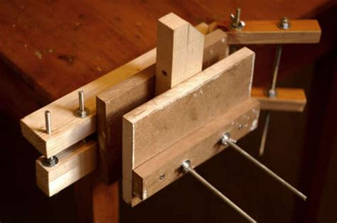woodwork diy wood vise  plans