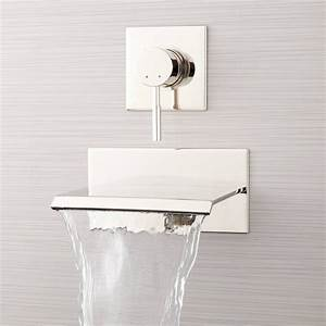 Lavelle Wall-mount Waterfall Tub Faucet