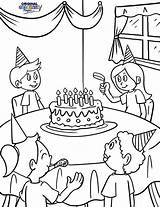 Birthday Coloring Pages Happy Party Sure Friends Special Them Fun Hand sketch template
