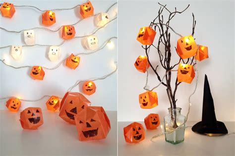 diy origami halloween lights beesdiycom