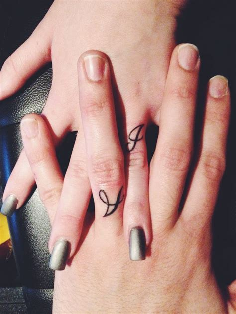 Amazing Finger Tattoo Ideas Ring