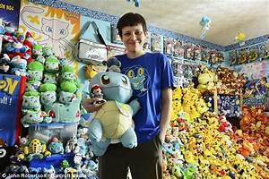 Has caught em Woman owns world s largest collection Pokemon memorabilia consisting 16 000 items