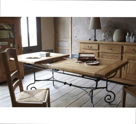 table fer et bois salle manger myqto