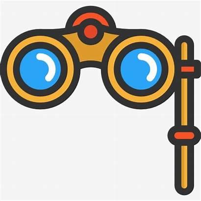 Binoculars Clipart Cartoon Transparent Binoculares Webstockreview Glasses