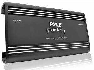 Amazon Com  Pyle Pla2678 2 Channel 4000 Watts Bridgeable