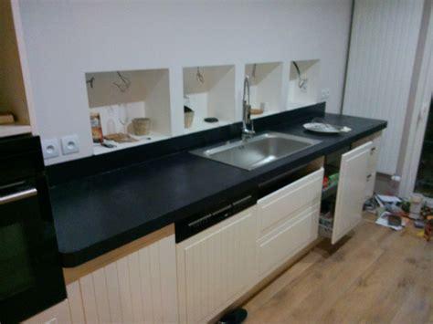 béton ciré sur carrelage plan de travail cuisine cuisine plan de travail beton ciré
