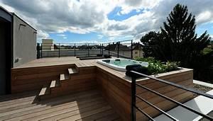 Jacuzzi Bois Exterieur Pour Terrasse
