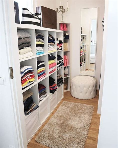 our small walk in closet home closet
