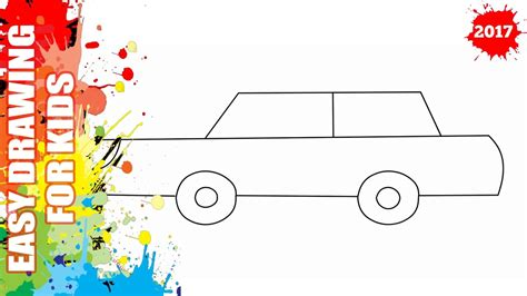 How To Draw A Car Step By Step With Pictures by How To Draw A Car Easy And Simple For Easy Step By