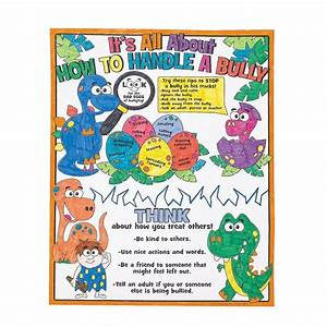 Anti-Bullying Poster Ideas | Color Your Own All About ...