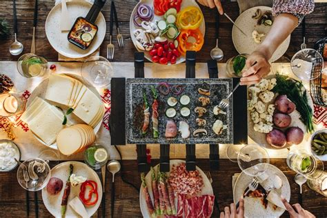 Entertaining New Years Dinner by Raclette Ideas Crate And Barrel