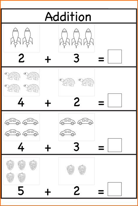 6 worksheets for 4 year olds instituto facil