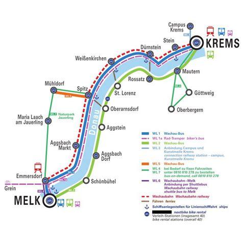 Die Wachau Karte