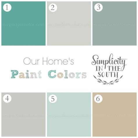 paint colors simplicity in the south home tour 1 sherwin