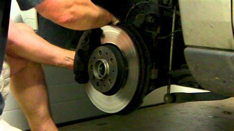 removing brake rotor volvo     volvo