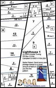 Lighthouse Quilt Pattern Beach Quilts Pinterest