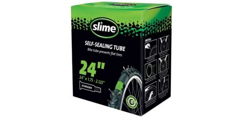 chambre à air vtt anti crevaison slime chambre a air 24x1 75 2 125 avec liquide anti