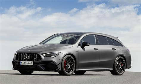 The cla 45 s shooting brake is the sort of special car that comes along when a manufacturer follows its nose for longer than is normal or, perhaps, sensible. 2020 Mercedes-AMG CLA 45 Shoot Brake revealed ...