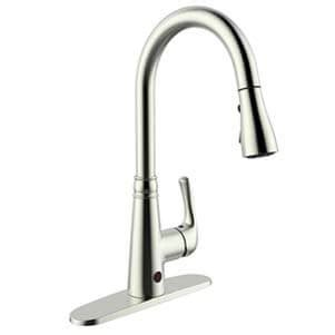 touchless kitchen faucets reviews buying guide rich  posh