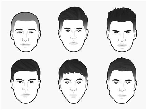 mens haircut   face shape business insider