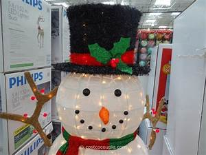 3 Ft Lighted Snowman 60 Inch Lighted Snowman