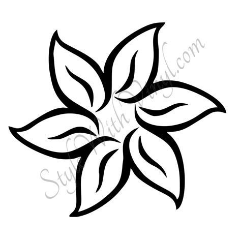 easy to draw designs easy drawing flower designs how to draw a cool simple