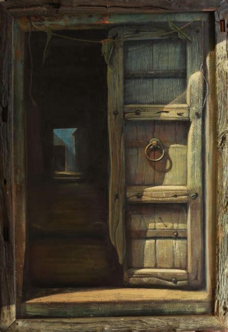 open door  artist gopal pardeshi acrylic paintings