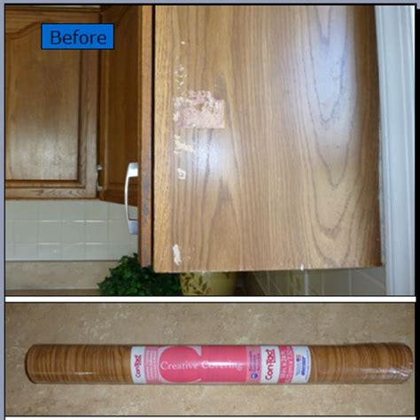 quick oak cabinet fix  tiny budget home maintenance