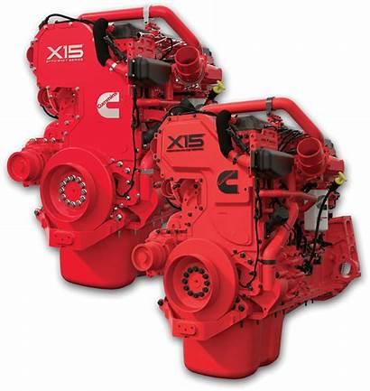 Engine Cummins X15 Motor Motors Performance Efficiency