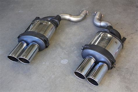 M5 Exhaust by Evolve Bmw E60 M5 E Tronic Exhaust And X Pipe