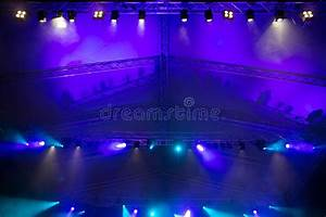 Stage lights stock photo. Image of electric, brightly ...