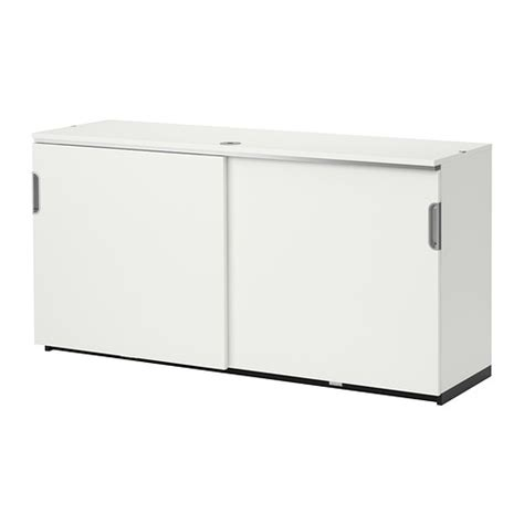 Meuble Rangement Porte Coulissante Ikea by Galant Cabinet With Sliding Doors White Ikea