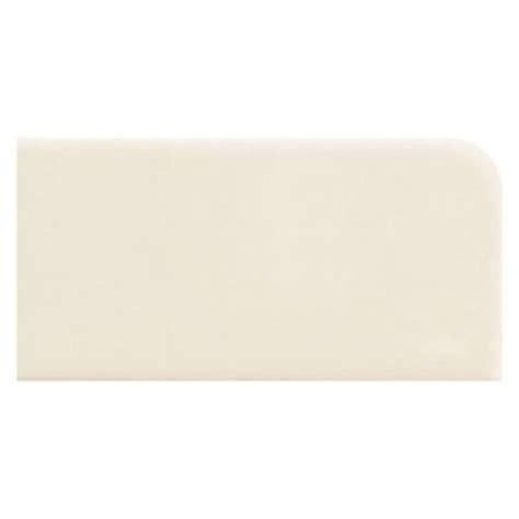 rittenhouse square tile biscuit daltile matte biscuit 6 in x 6 in ceramic bullnose wall