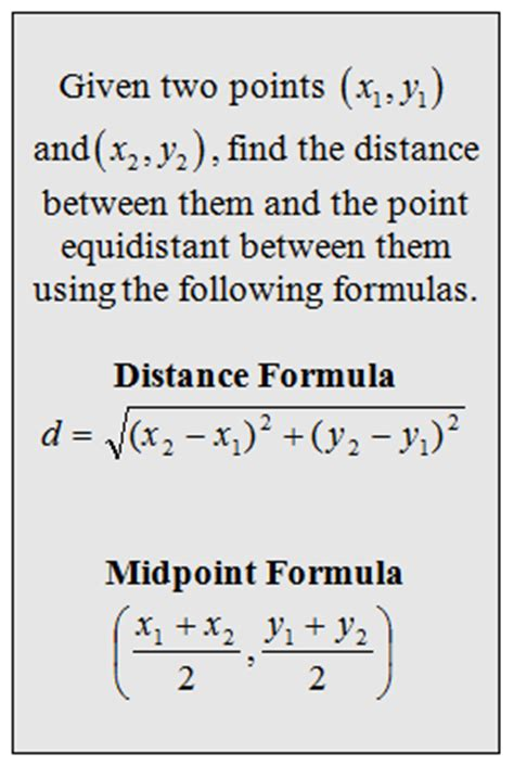 worksheets distance formula word problems with solutions