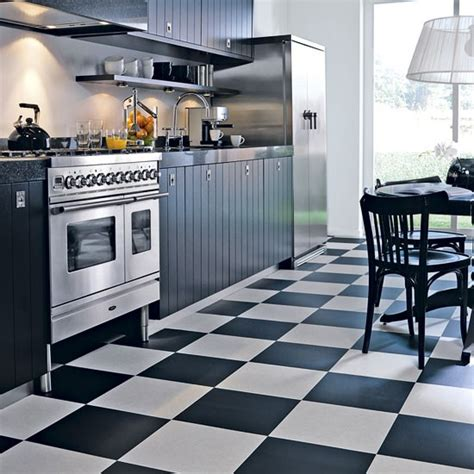 black white floor tiles kitchen floor tiles for an