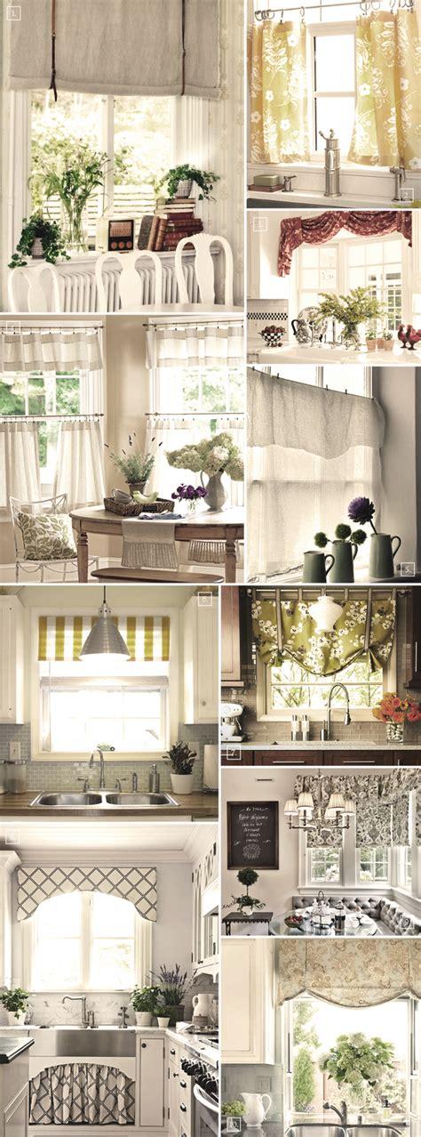 curtain ideas for kitchen windows shabby chic decor and kitchen curtain ideas afreakatheart