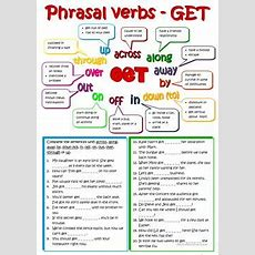 367 Free Esl Phrasal Verbs Worksheets