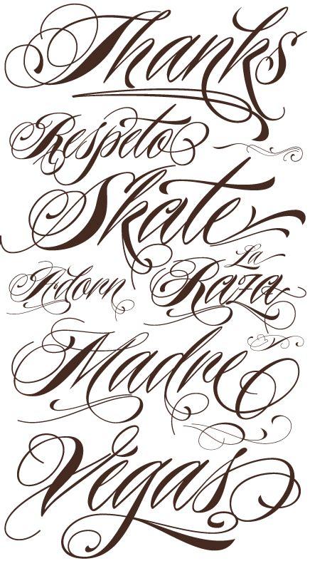 choosing tattoo tattoo font styles