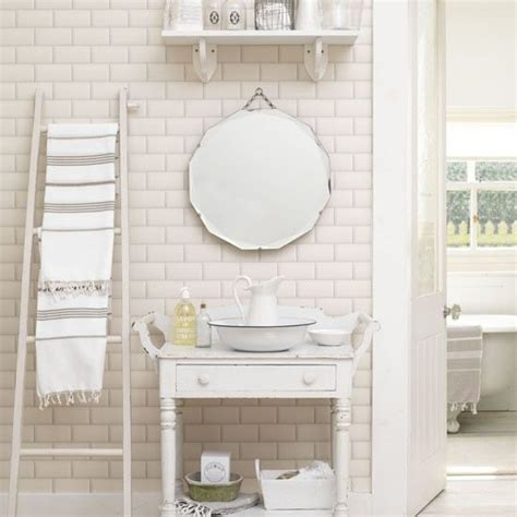 shabby chic small bathroom vanity habitat odin bamboo 6 tier vanity units ideas for small bathrooms and shabby chic bathrooms