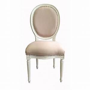 Chaise Tissu Beige : chaise style louis xvi pas cher ~ Teatrodelosmanantiales.com Idées de Décoration