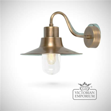sheldon wall lantern brass outdoor wall lights