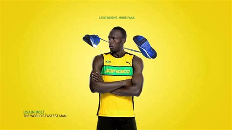 Puma Ad With Usain Bolt Hd