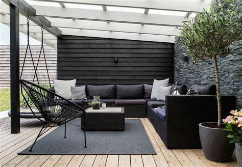 outdoor lounge  schwarz outdoorlounge
