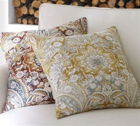 pottery barn large decorative pillows celeste pillow cover pottery barn for the home