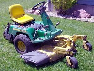 John Deere F510  F525 Residential Front Mower Technical